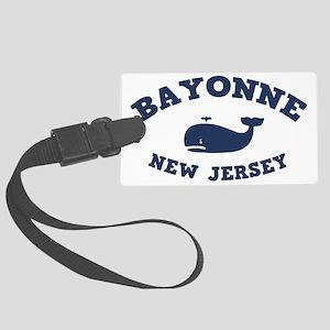 souv-whale-bayon-CAP Large Luggage Tag