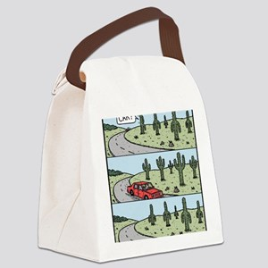 Cacti arms Canvas Lunch Bag