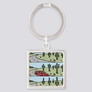 Cacti arms Square Keychain
