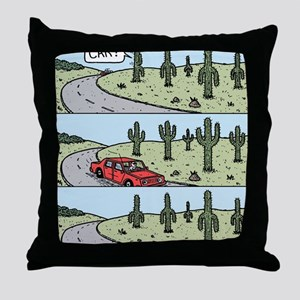 Cacti arms Throw Pillow