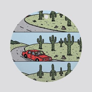 Cacti arms Round Ornament