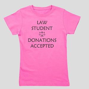 Law Student Girl's Tee