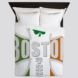 Irish Boston Pride Queen Duvet