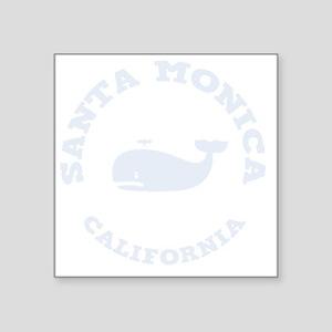 "souv-whale-sm-ca-DKT Square Sticker 3"" x 3"""