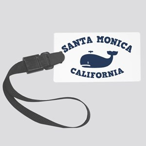 souv-whale-sm-ca-CAP Large Luggage Tag