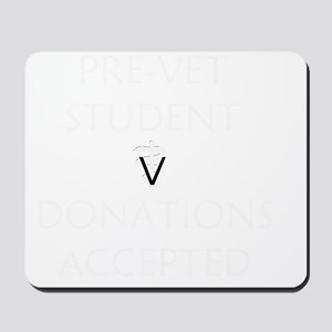 Pre-Vet Student Mousepad