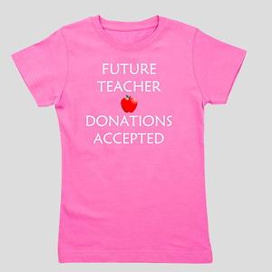 Future Teacher Girl's Tee