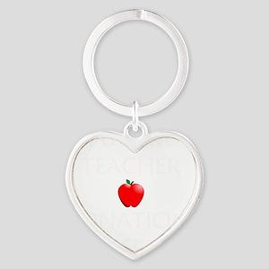 Future Teacher Heart Keychain