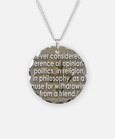 A difference of opinion... Necklace