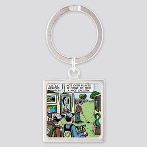 Golf gallery Square Keychain