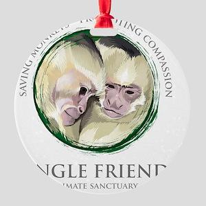 jungle_friends Round Ornament