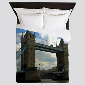 London Bridge Tower Queen Duvet