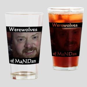 Werewolves of MaNDan Drinking Glass