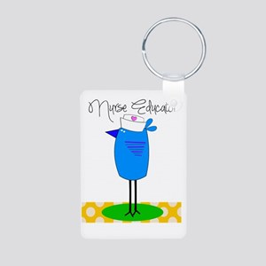 nurse educator 2 Aluminum Photo Keychain