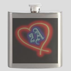 Second Amendment Love Flask