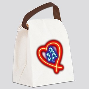 Second Amendment Love Canvas Lunch Bag