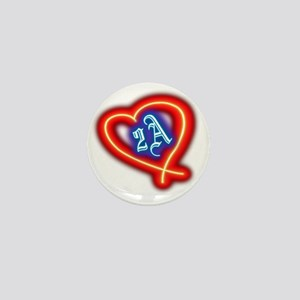Second Amendment Love Mini Button