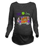 Groovy Van Long Sleeve Maternity T-Shirt