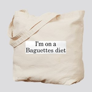 Baguettes diet Tote Bag