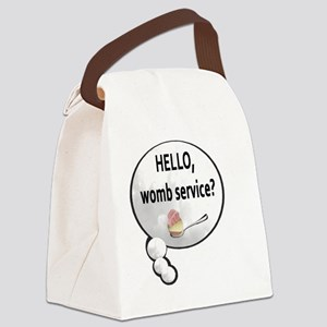 Womb Service Canvas Lunch Bag