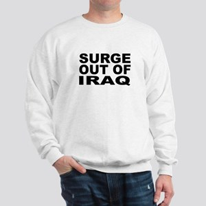 SURGE OUT OF IRAQ Sweatshirt