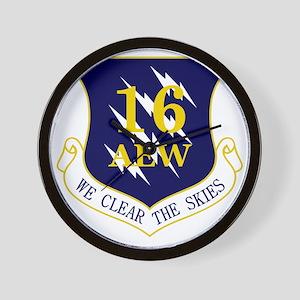 16th AEW Wall Clock