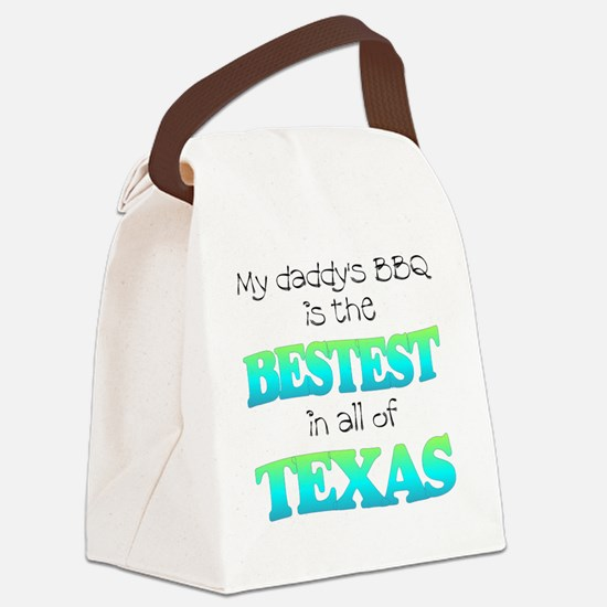 bestest in texas Canvas Lunch Bag