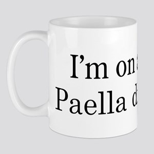 Paella diet Mug