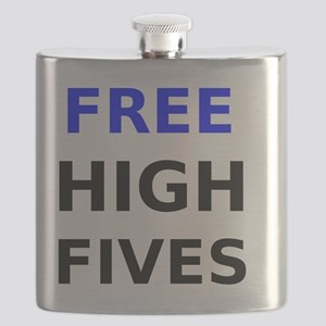 Free High Fives Flask