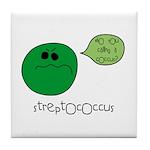 Streptococcus Tile Coaster