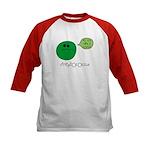 Streptococcus Kids Baseball Jersey