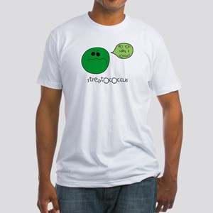 Streptococcus Fitted T-Shirt