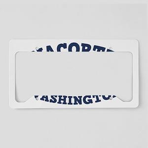 souv-whale-anacor-CAP License Plate Holder
