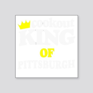 """pittsburgs greatest griller Square Sticker 3"""" x 3"""""""