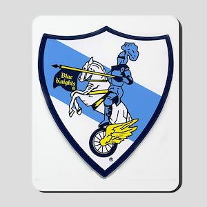 Blue Knights Logo Mousepad