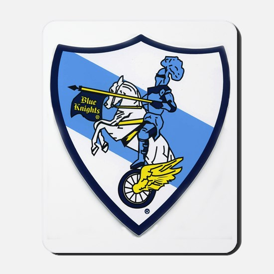 Blue Knights Logo Mousepad