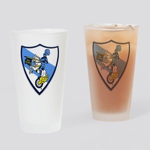 Blue Knights Logo Drinking Glass