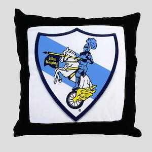 Blue Knights Logo Throw Pillow