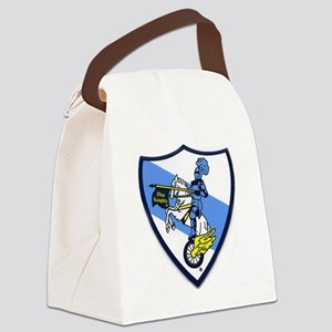 Blue Knights Logo Canvas Lunch Bag