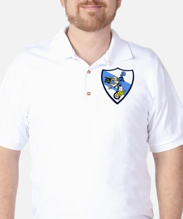 Blue Knights Logo Golf Shirt