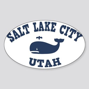 souv-whale-salt-utah-CAP Sticker (Oval)