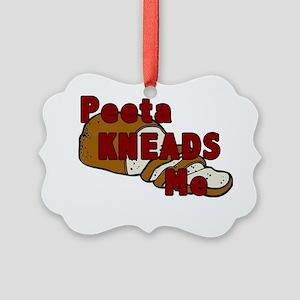 Peeta Kneads Me Picture Ornament
