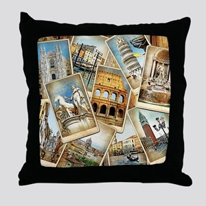 showercurtain684 Throw Pillow