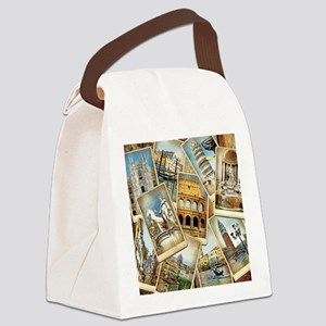 showercurtain684 Canvas Lunch Bag