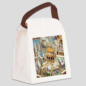 showercurtain684 Canvas Lunch Bag