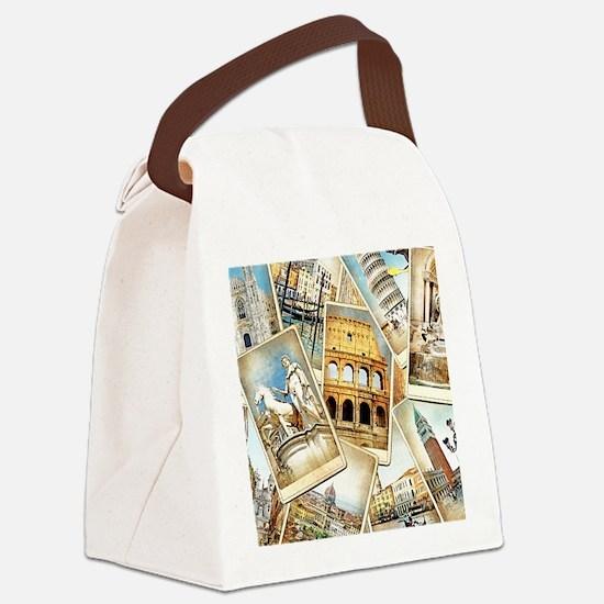 blanket75 Canvas Lunch Bag