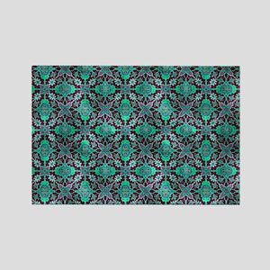 Vintage Carpet Rectangle Magnet