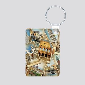 60x84_Curtain16 Aluminum Photo Keychain