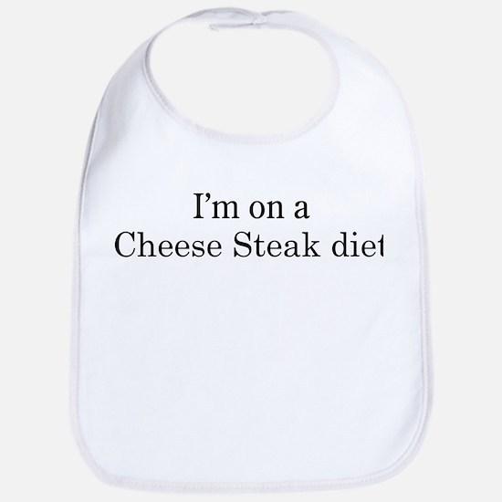 Cheese Steak diet Bib