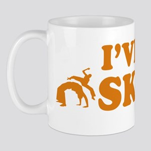 Cool Capoeira vector designs Mug